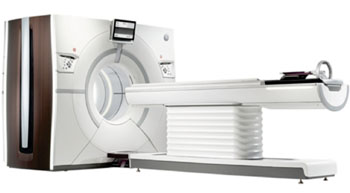 Image: GE Healthcare's Revolution CT system (Photo courtesy of GE Healthcare).