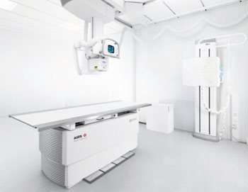 Image: The DX-D 600 automatic digital X-ray suite (Photo courtesy of Agfa HealthCare).