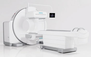 Image: The Symbia Intevo xSPECT SPECT/CT system (Photo courtesy of Siemens Healtcare).