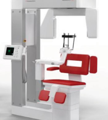 Image: Scanora 3Dx cone-beam CT system (Photo courtesy of Sorodex).