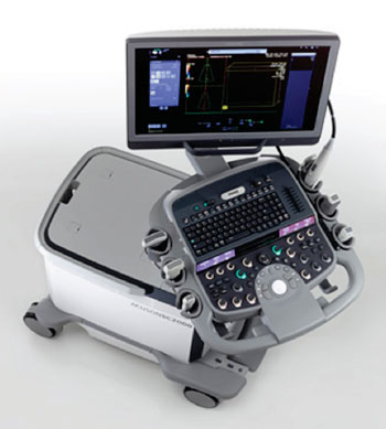 Image: The Siemens Healthcare Acuson SC2000 Prime ultrasound system, designed for interventional heart valve procedures (Photo courtesy of Siemens Healthcare).