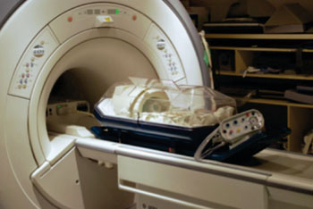 Image: Scan Pod Incubator in MRI (Photo courtesy of Advanced Healthcare Technology).